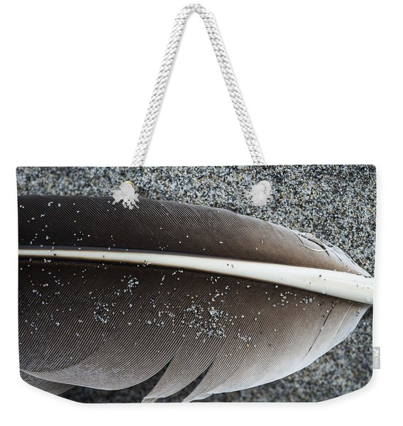 Flight Feather Weekender Tote Bag