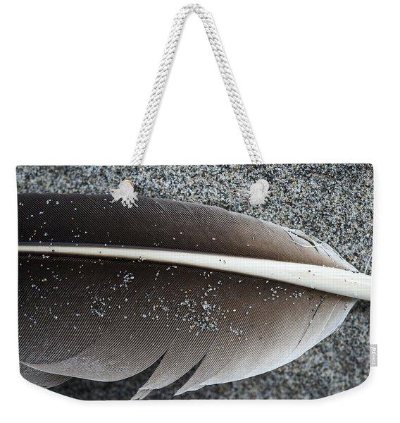 Flight Feather Weekender Tote Bag