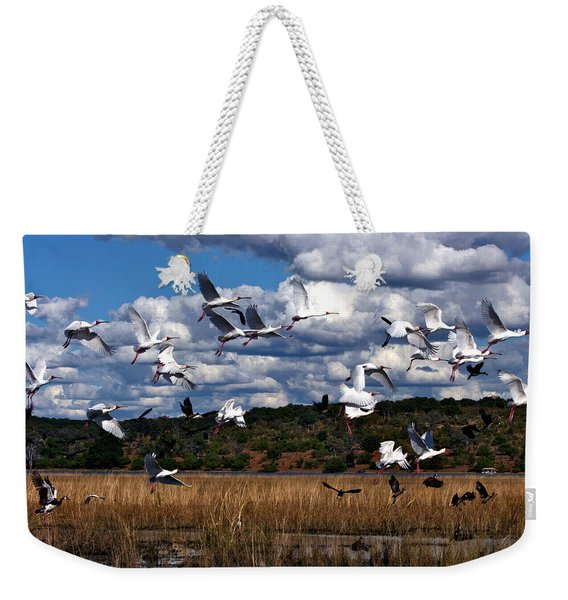 Flight Weekender Tote Bag