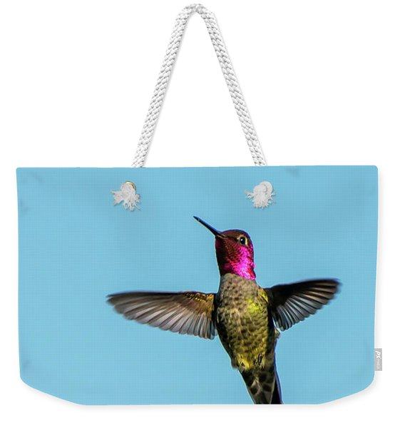 Flight Of A Hummingbird Weekender Tote Bag
