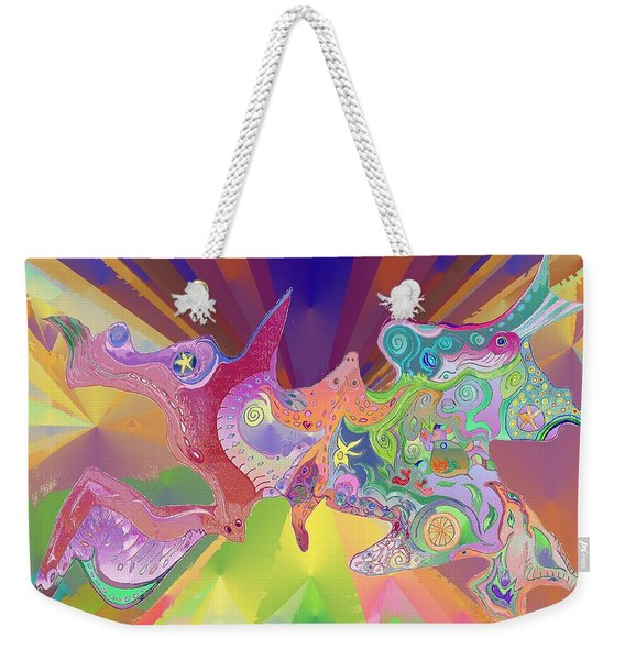 Flight Of Evolution Weekender Tote Bag