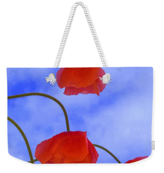 Flight Red Weekender Tote Bag