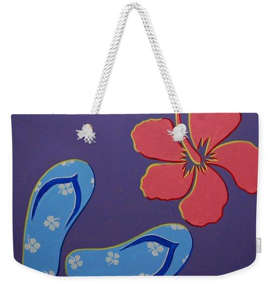 Flip Flops Weekender Tote Bag