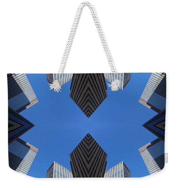 Nyc No. 14 Weekender Tote Bag