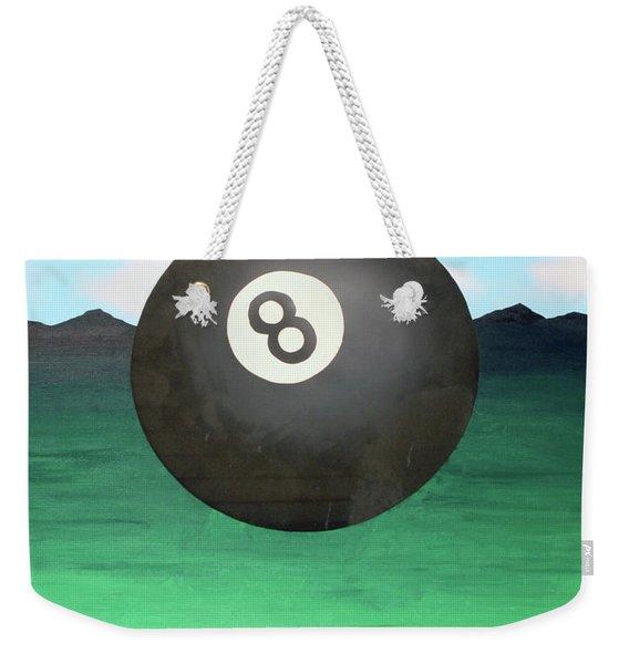 Floating 8 Weekender Tote Bag