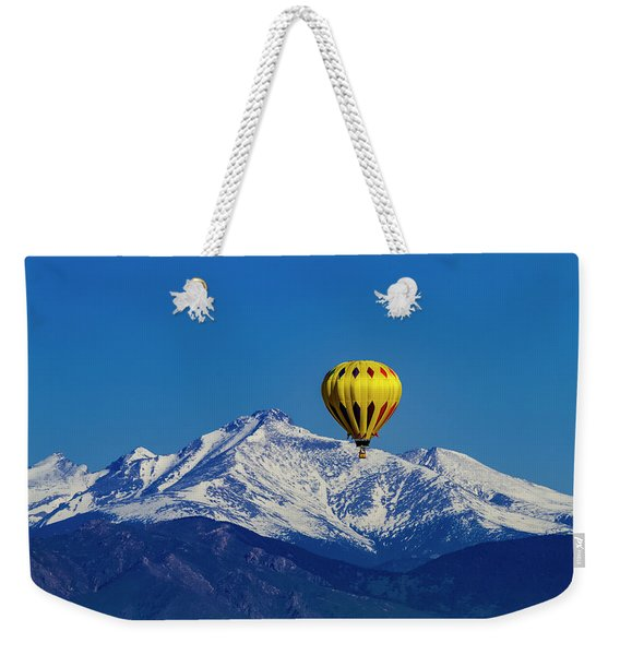 Floating Above The Mountains Weekender Tote Bag