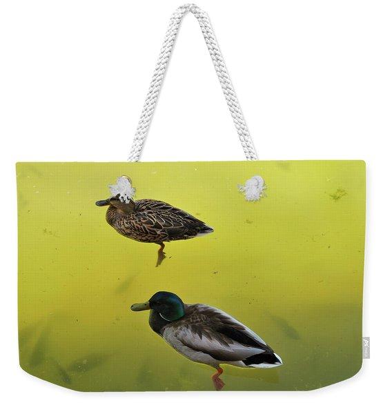Floating Around Weekender Tote Bag
