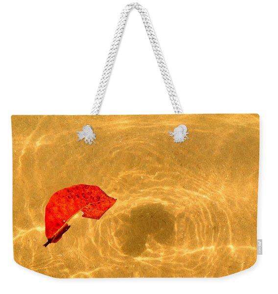Floating In Gold Weekender Tote Bag