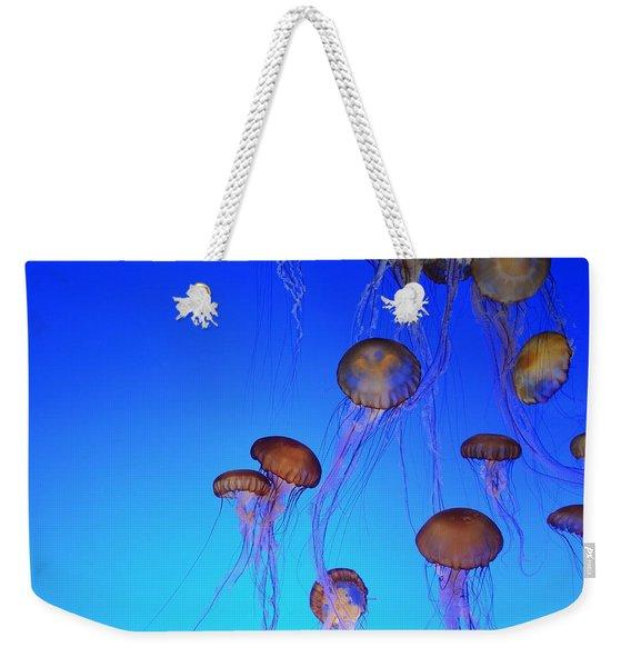 Floating Jellyfish Ballet Weekender Tote Bag