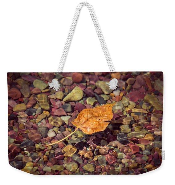 Floating Leaf Weekender Tote Bag