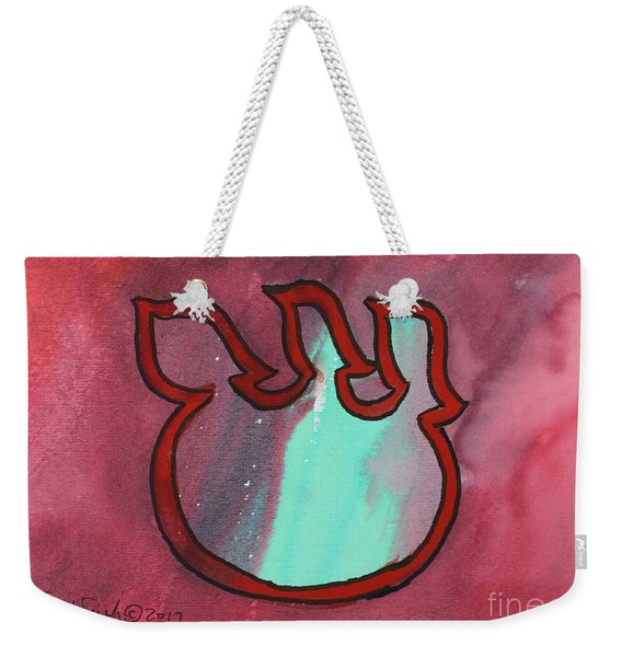Floating Shin Weekender Tote Bag
