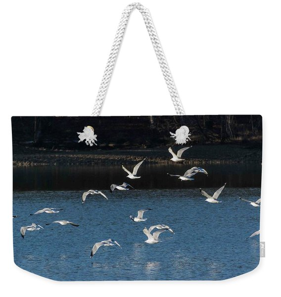 Flock Of Them Weekender Tote Bag