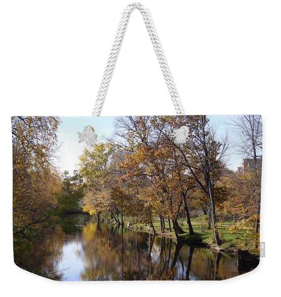 Flood Plain Weekender Tote Bag