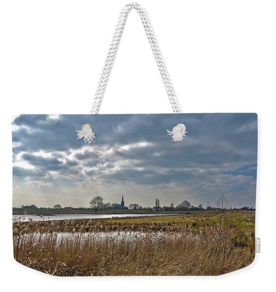 Floodplains Near Culemborg Weekender Tote Bag