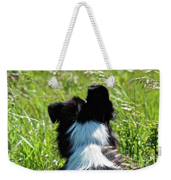 Floppy Ear Weekender Tote Bag