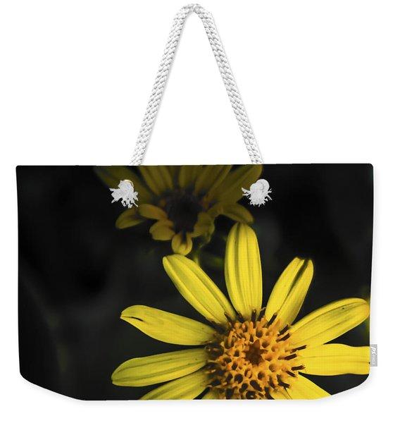 Flora In Yellow Weekender Tote Bag