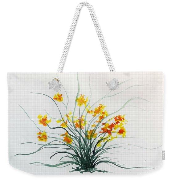 Floral 2 Weekender Tote Bag