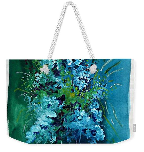 Floral 6 Weekender Tote Bag