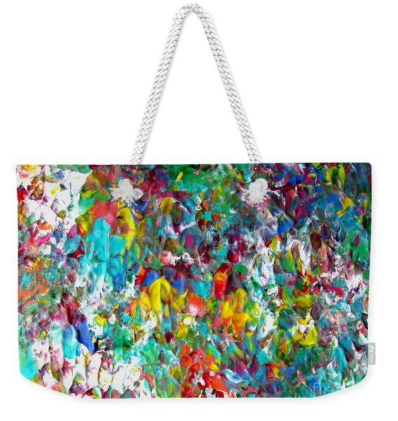 Floral Abstract 0715 Weekender Tote Bag