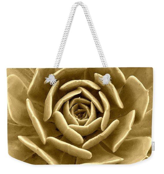 Floral Abstract Weekender Tote Bag