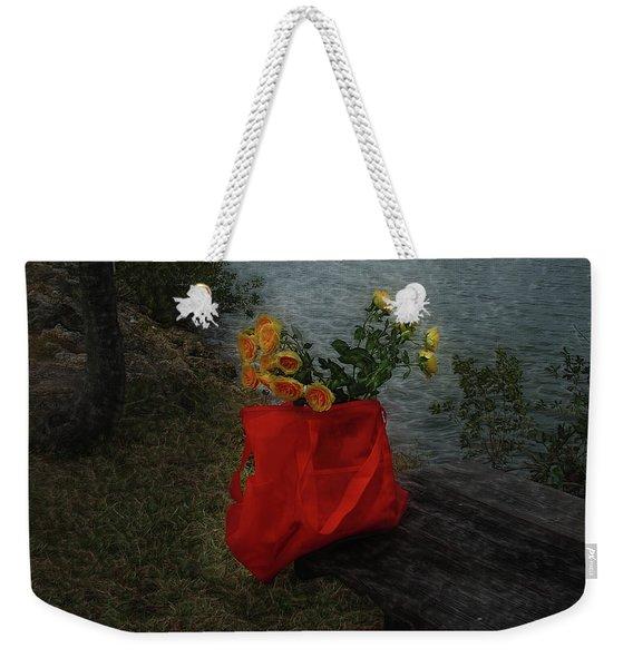 Floral Art 11 Weekender Tote Bag
