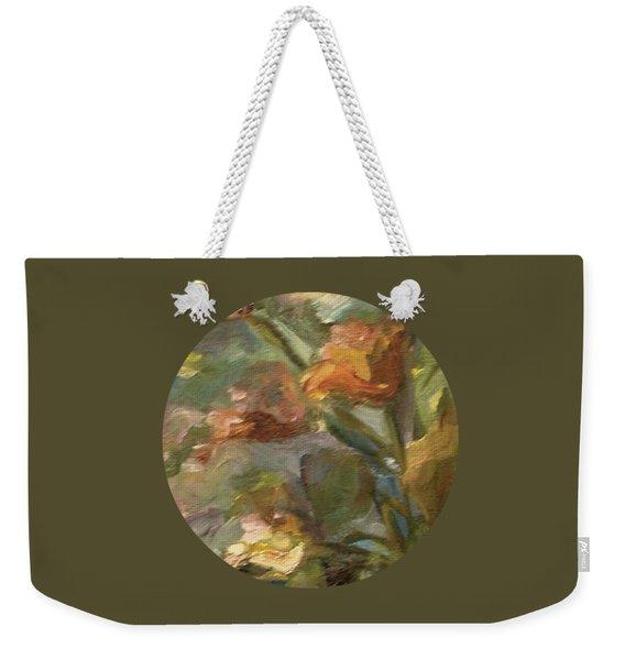 Floral Bouquet Weekender Tote Bag