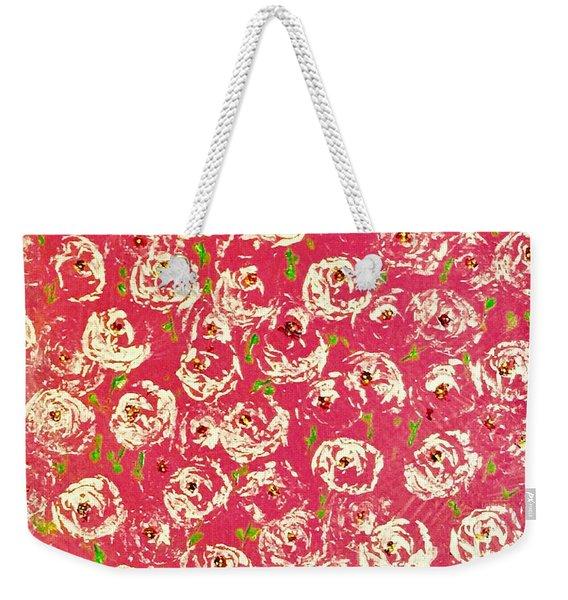 Floral Design Weekender Tote Bag