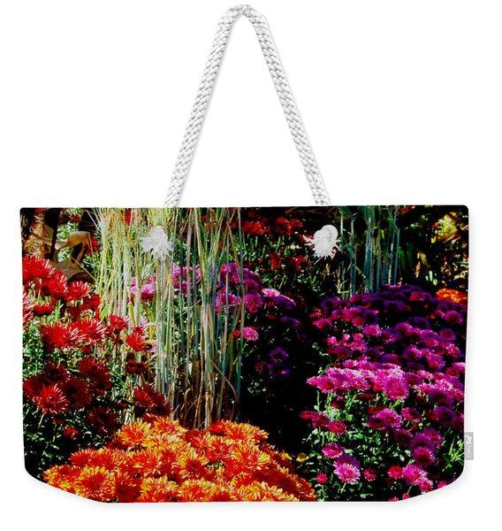 Floral Display Weekender Tote Bag