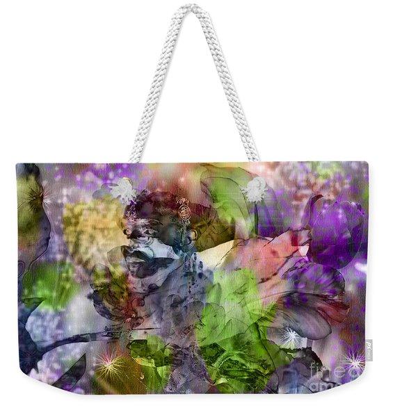 Floral Dream Of Oriental Beauty Weekender Tote Bag