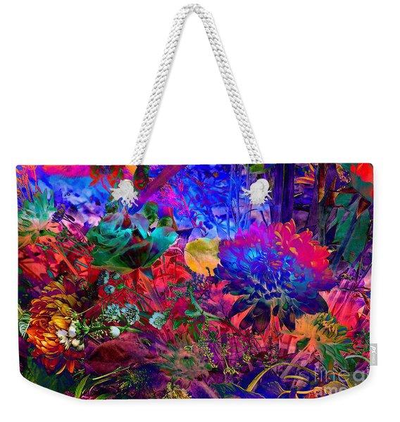 Floral Dream Of Summer Weekender Tote Bag