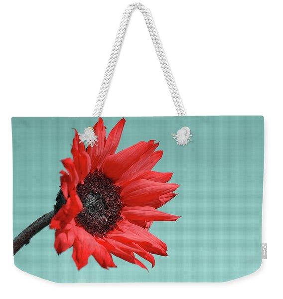 Floral Energy Weekender Tote Bag