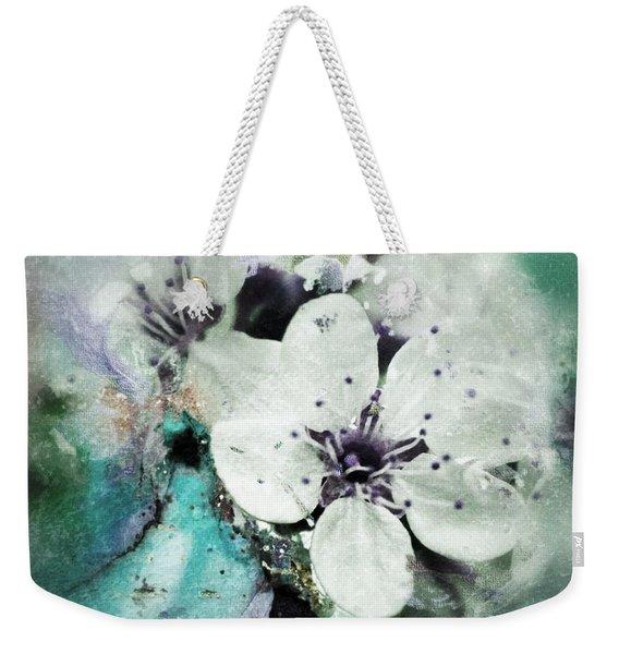 Floral Haze Weekender Tote Bag
