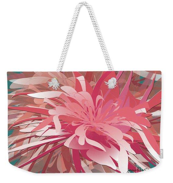 Floral Profusion Weekender Tote Bag