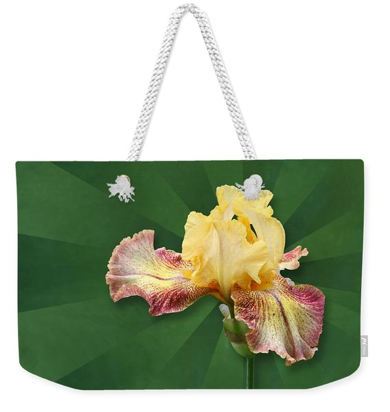 Floral Radiance Weekender Tote Bag
