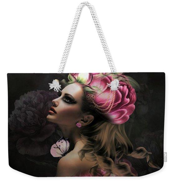 Floral Romance Weekender Tote Bag
