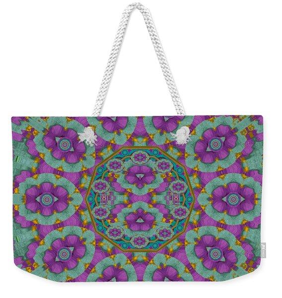 Florals Of Paradise Weekender Tote Bag