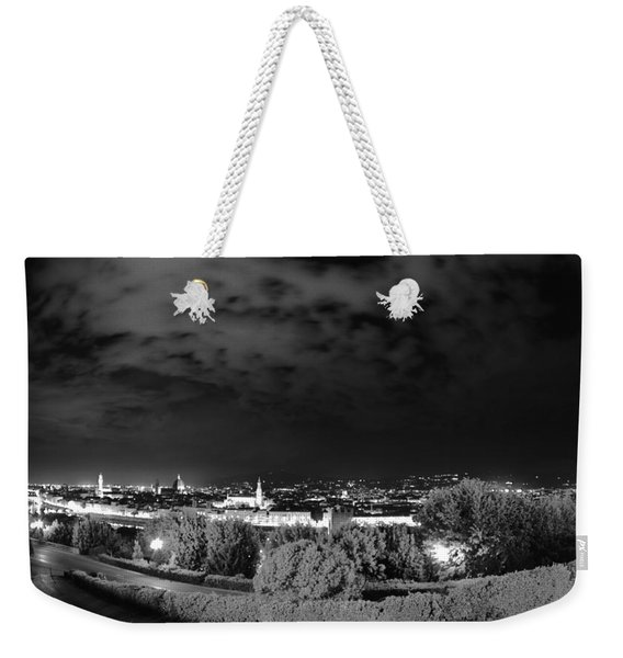 Florence From Above Weekender Tote Bag