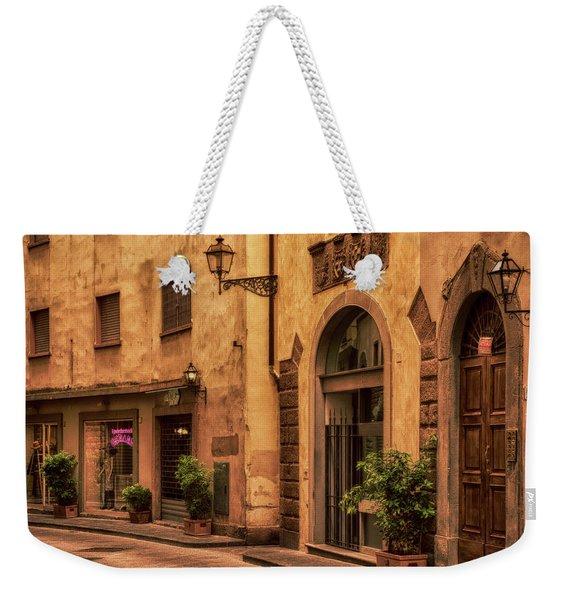 Florentine Street Weekender Tote Bag