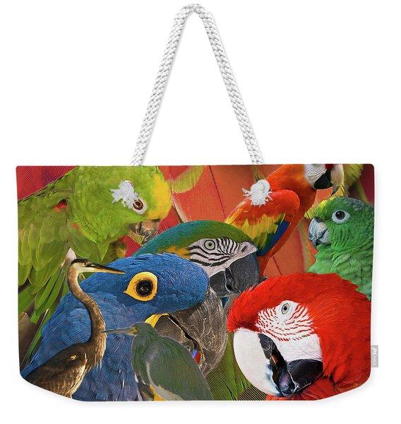 Florida Birds Weekender Tote Bag
