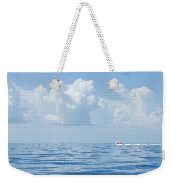 Florida Keys Clouds And Ocean Weekender Tote Bag