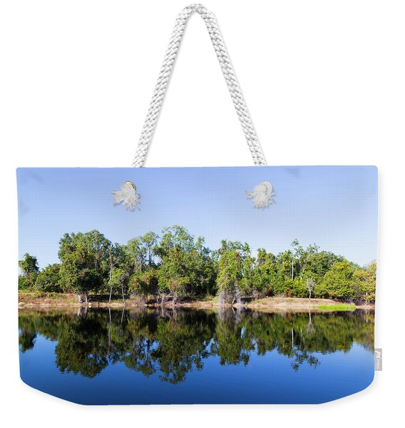 Florida Lake And Trees Weekender Tote Bag