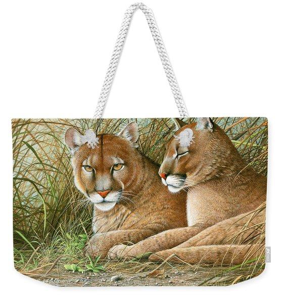 Florida Siblings Weekender Tote Bag
