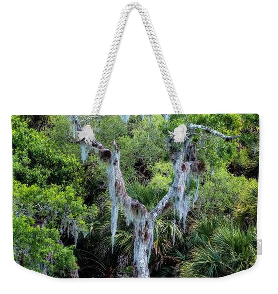 Florida Spanish Moss Weekender Tote Bag