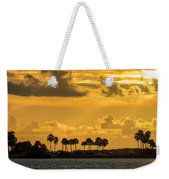 Florida Sunset-1 Weekender Tote Bag