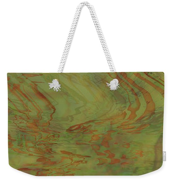 Flow Improvement In The Grass Weekender Tote Bag