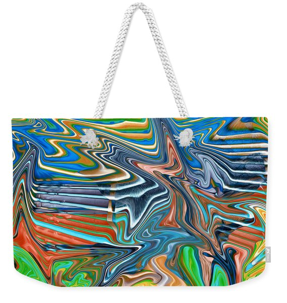Flow Sketch Weekender Tote Bag