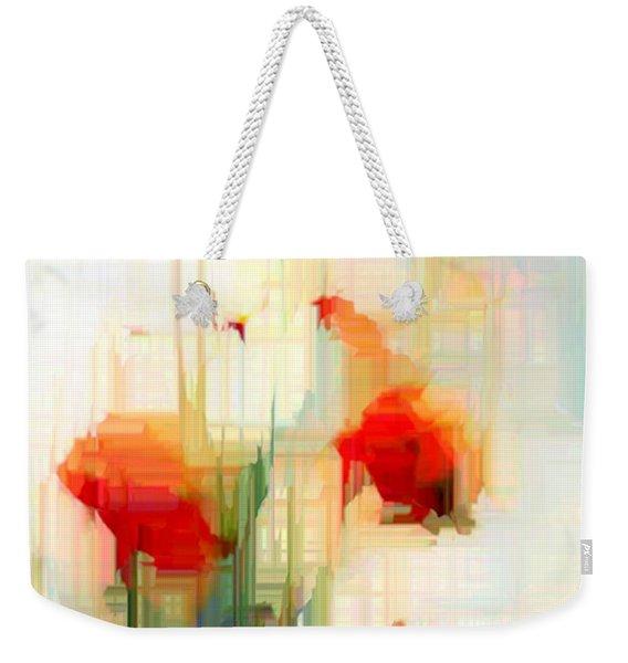 Flower 9230 Weekender Tote Bag