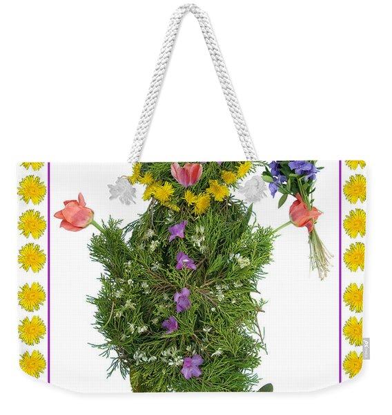 Flower Baby Weekender Tote Bag