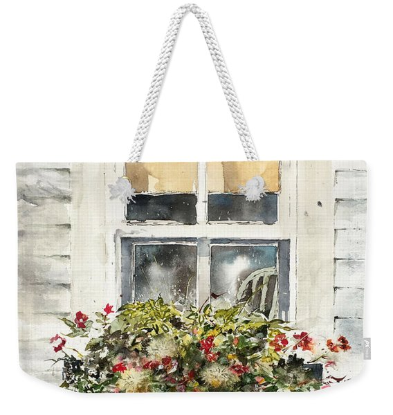Flower Box Weekender Tote Bag