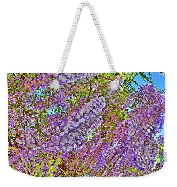 Flower Carpet. Chinese Wisteria.  Weekender Tote Bag